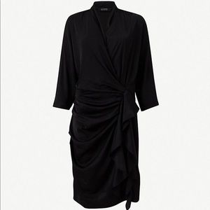 "All Saints ""Issey"" Draped Dress"